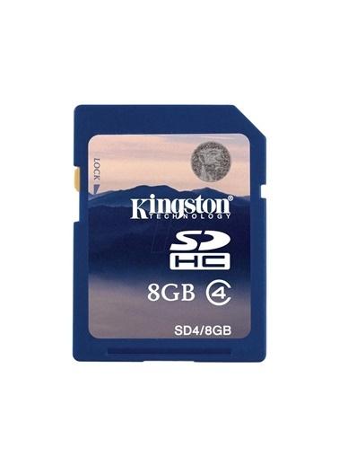 Kingston Kingston 8 Gb Sdhc Hafıza Kartı Class 4 Renkli